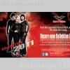Queen of Darkness Adv Design for Negatief Magazine