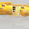 The Taoist Master CD Cover Design