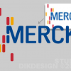 MERCK Redrawing logo