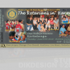 Rotary Club Invitation Cards Design
