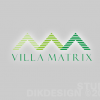 Villa Matrix logo design