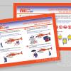 AIRBALI Safety Briefing Card Design