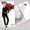 Queen of Darkness Postcard Design