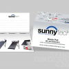 SunnyTech Business Card Design