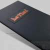 Restaurant Menu Cover Design and Production