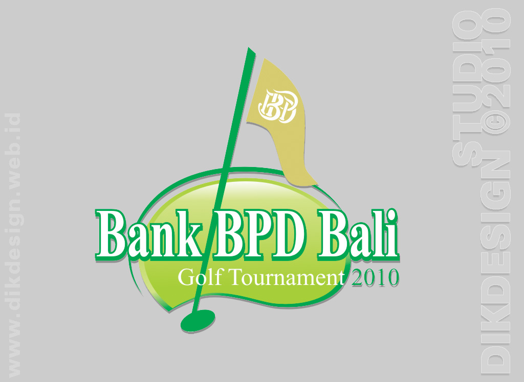 Bank BPD Bali Golf Tournament 2010 logo