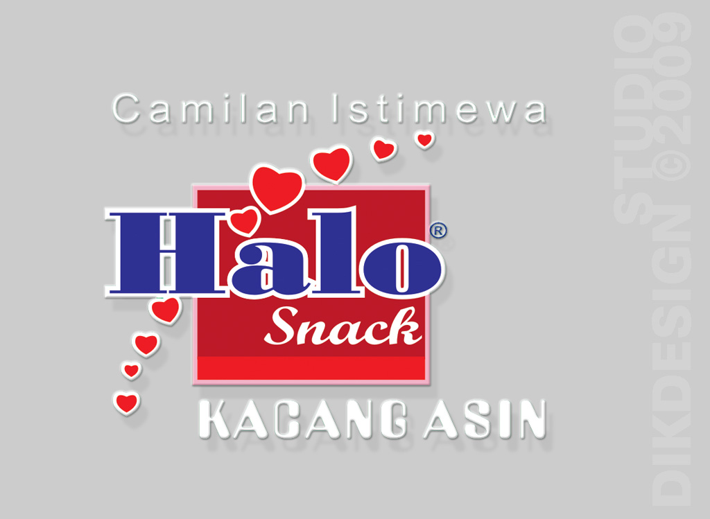 Halo Snack Logo Design