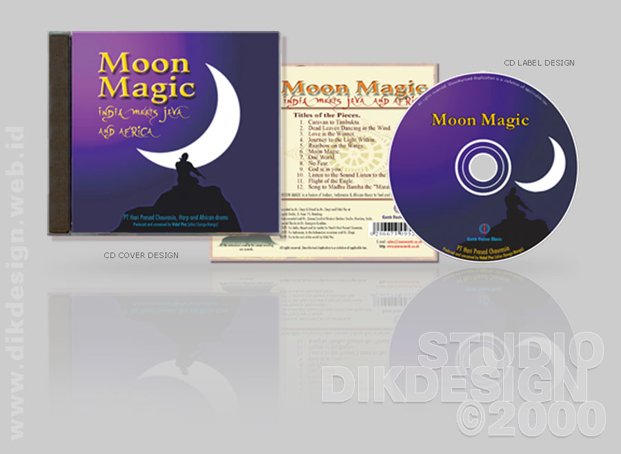 Moon Magic CD Cover Design