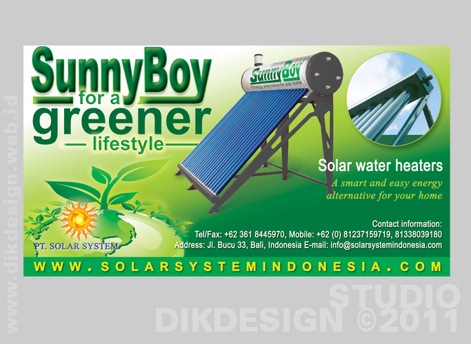 Solar System Advertising at BaliAdvertiser