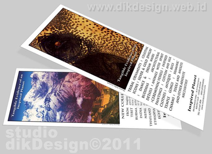 The Inspired Planet Brochure design