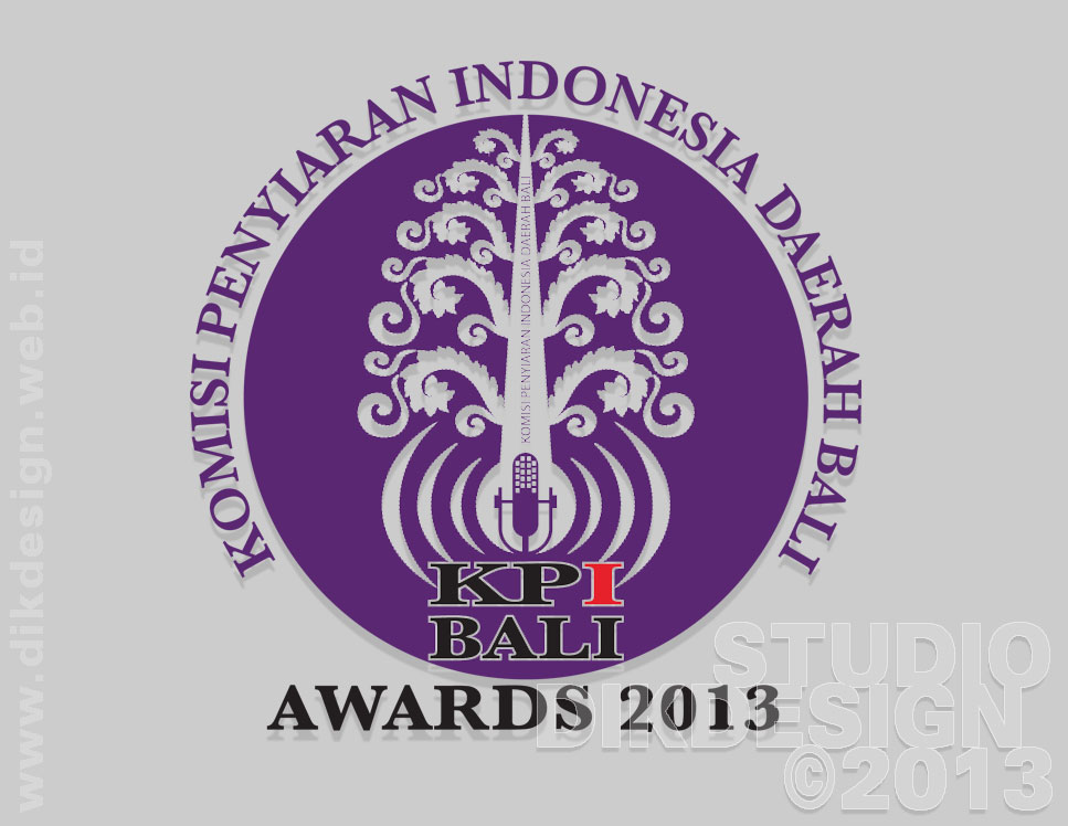 KPI Bali Awards 2013 logo design