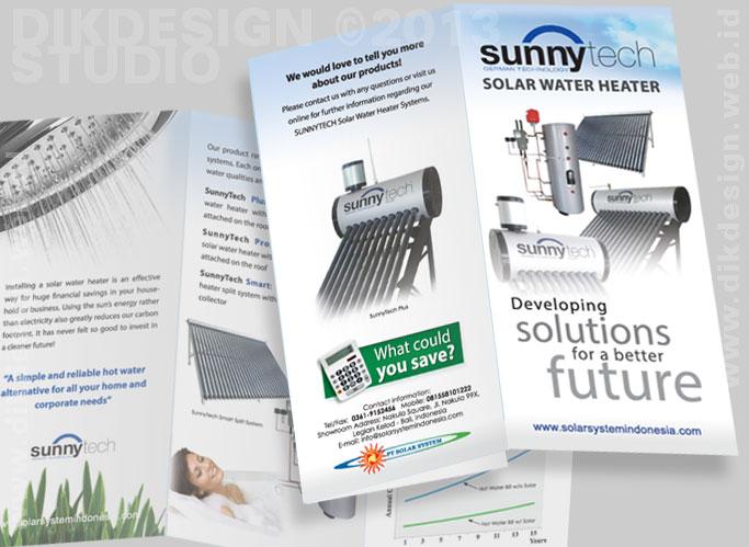 SunnyTech Brochure Design 2013