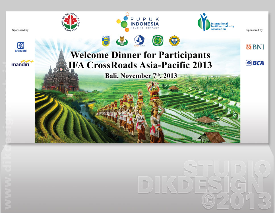 Welcome Dinner for Participants IFA CrossRoads Asia-Pacific 2013