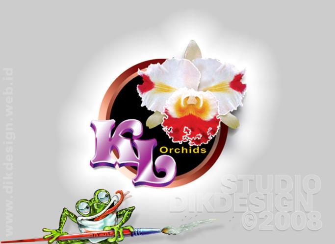 Ketemulagi Orchids Logo Design