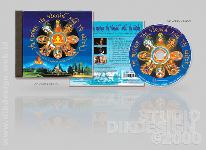 The Mother the Virgin and the Witch CD Cover Design