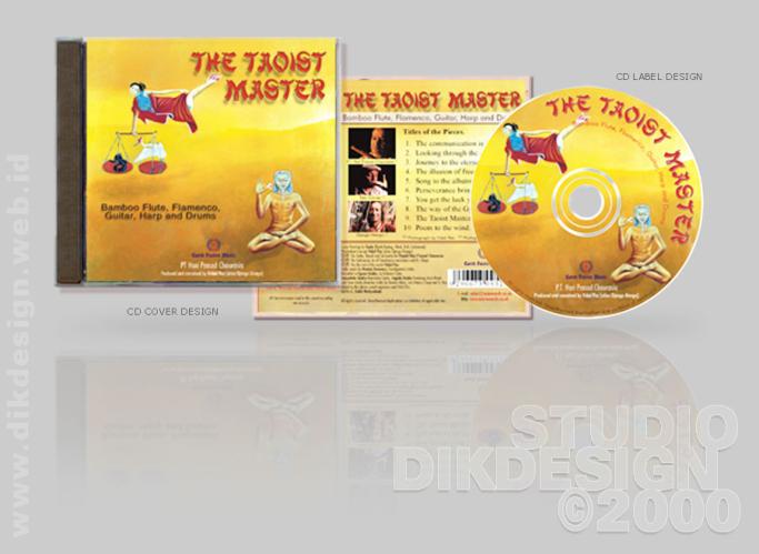 The Taoist Master CD Cover Design