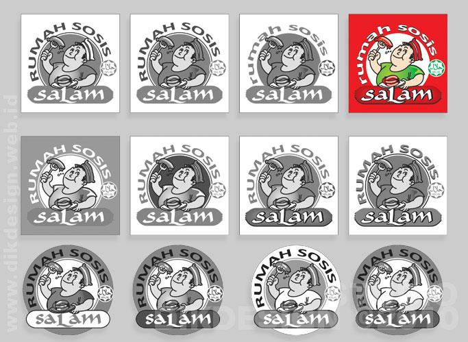 RUMAH SOSIS Logo Design