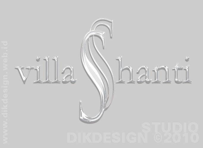 Villa Shanti Logo Design