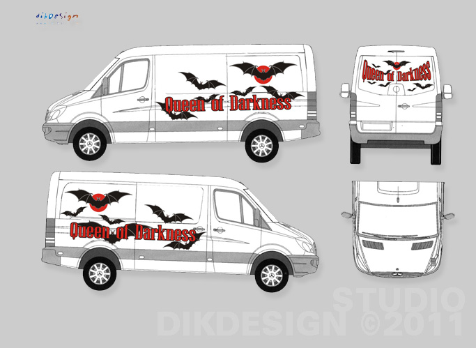 Branding Car of Queen of Darkness GmBH