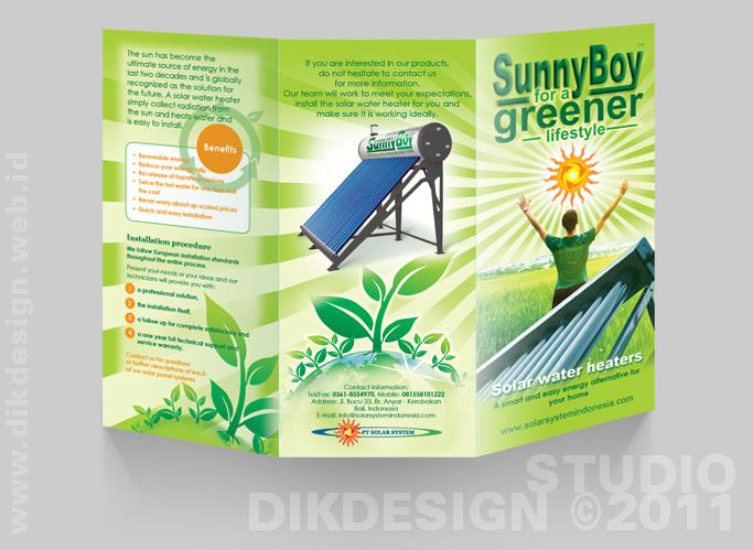 SunnyBoy Brochure Design