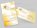 Star Abundance Business Card Design