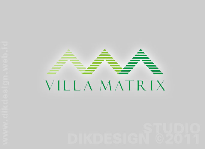 Villa Matrix logo design