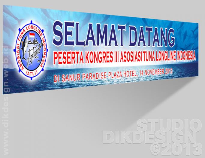 Kongres III ATLI 2013 Spanduk design