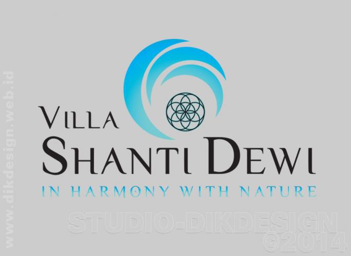 Re-design Villa Shanti Dewi Logo